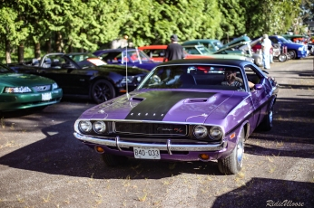 1970 Challenger at one of the first A&W cruise in nights of the spring