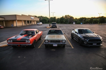 I had the pleasure of rolling from Salt Lake City with my friends Wyatt and Trey in Wyatt's 69 Plymouth Roadrunner and Jacob in his 72 AMC Hornet Station Wagon. It was a hell of a drive and I gotta say I almost felt guilty using the AC while everyone had to rely on nothing but the breeze of the highway to escape the summer sweat.