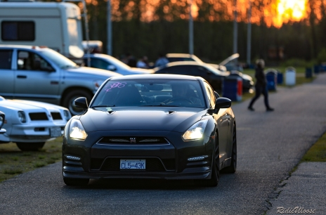 I found out that the return road at the drag strip can make for some good candid photos. This low 10's GTR is the perfect example of how prowling with a long lens can make for a great pays off!