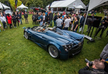 The new Pagani Huayra roadster at Luxury Supercar weekend 2017